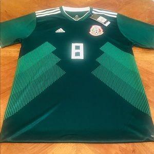 Adidas Lozano Mexico World Cup Home Jersey
